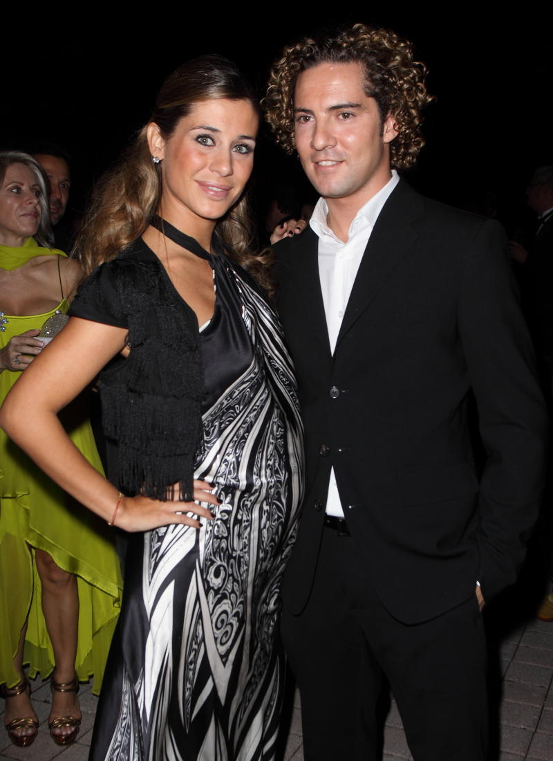 CORAL GABLES, FL - NOVEMBER 06: Elena Tablada and David Bisbal attend the Spains United States Chamber of Commerce 30th Annual Gala at The Biltmore Hotel on November 6, 2009 in Coral Gables, Florida. (Photo by John Parra/Getty Images)