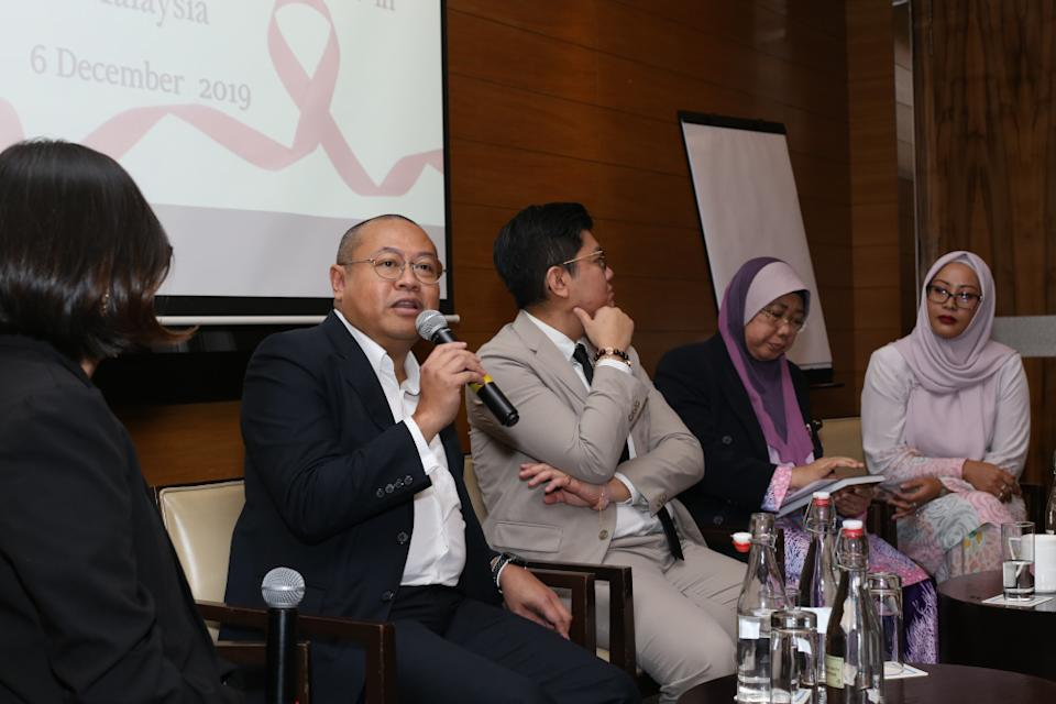 Bakhtiar Talhah suggests that Malaysia look at its neighbouring countries as examples of good practice when it comes to PLHIV and healthcare insurance policies. — Picture courtesy of Malaysian AIDS Foundation