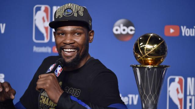 Kevin Durant says he can see himself retiring at age 35