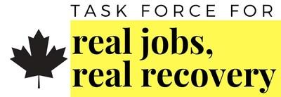 Task Force for Real Jobs, Real Recovery logo (CNW Group/Task Force for Real Jobs, Real Recovery)
