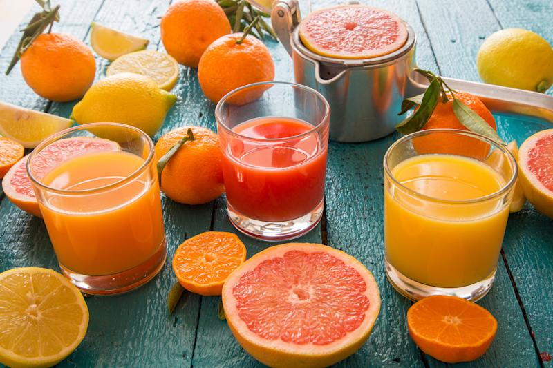 Juicing removes the fiber from fruit, making sugar hit your bloodstream faster than it would from whole fruit. (Photo: Westend61 via Getty Images)