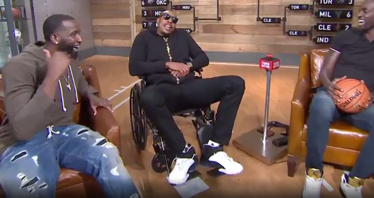 Retirement is treating Paul Pierce well, thank you very much. (