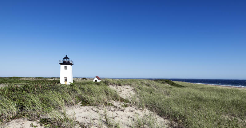 In Provincetown, Mass., on the tip of Cape Cod, tensions have been flaring among locals and second homeowners amid the coronavirus outbreak. (Photo: John Greim/LightRocket via Getty Images)
