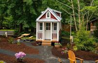 """<p>The Elm features a fully functional tiny porch and can sleep up to three people.<br></p><p><a class=""""link rapid-noclick-resp"""" href=""""https://go.redirectingat.com?id=74968X1596630&url=https%3A%2F%2Fwww.tumbleweedhouses.com%2Ftumbleweed-models%2Felm%2F%23%21&sref=https%3A%2F%2Fwww.countryliving.com%2Fhome-design%2Fg1887%2Ftiny-house%2F"""" rel=""""nofollow noopener"""" target=""""_blank"""" data-ylk=""""slk:SHOP NOW"""">SHOP NOW</a> <a class=""""link rapid-noclick-resp"""" href=""""https://www.countryliving.com/life/travel/g3595/tour-tiny-house-village/"""" rel=""""nofollow noopener"""" target=""""_blank"""" data-ylk=""""slk:SEE INSIDE"""">SEE INSIDE</a></p>"""