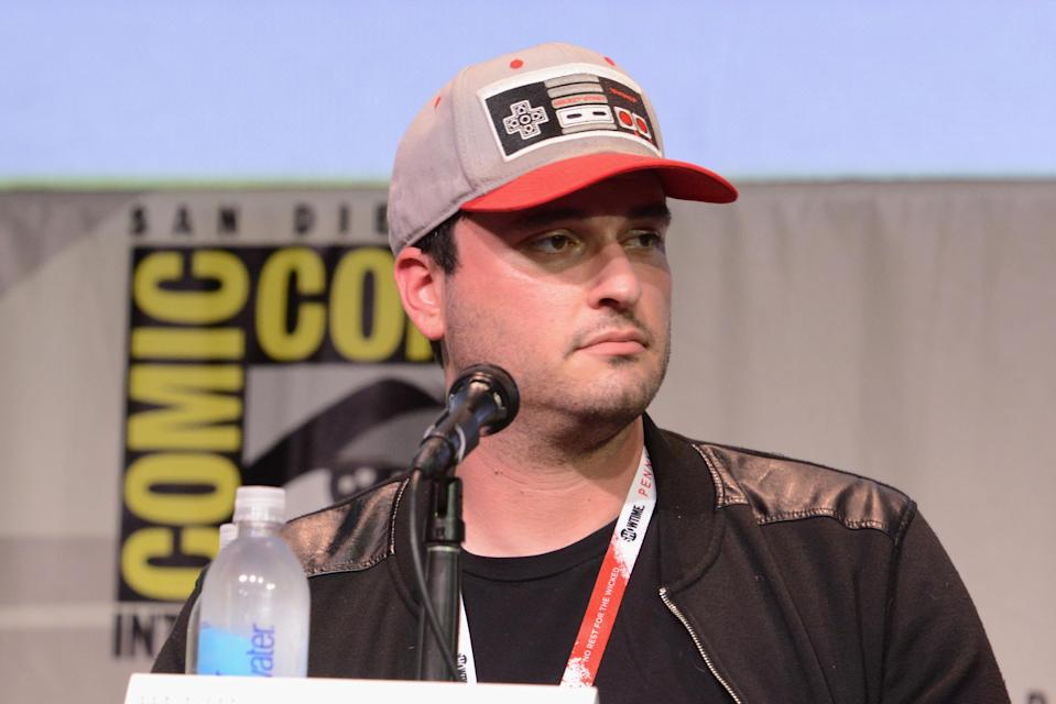 SAN DIEGO, CA - JULY 11: Director Josh Trank of 'Fantastic Four' speaks onstage at the 20th Century FOX panel during Comic-Con International 2015 at the San Diego Convention Center on July 11, 2015 in San Diego, California. (Photo by Albert L. Ortega/Getty Images)