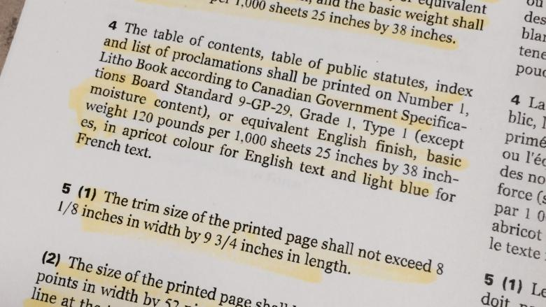 Liberals urged to scrap 19th century rule that requires laws be printed in books