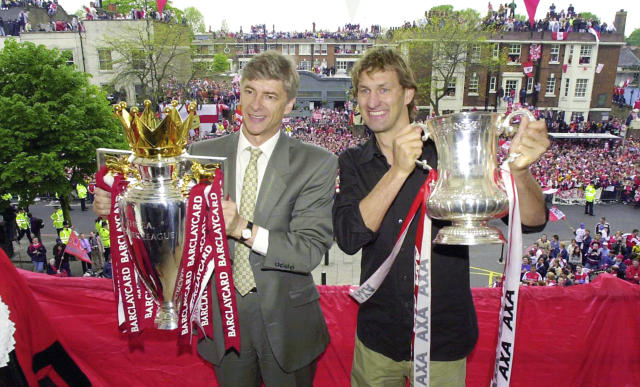 <p>Llegó al Arsenal en septiembre de 1996 y se marchará al final de esta temporada.<br><br>Títulos con el Arsenal: Premier League (1997-98, 2001-02, 2003-04), FA Cup (1997-98,2001-02, 2002-03, 2004-05, 2013-14, 2014-15, 2016-17) y Community Shield (1998, 1999, 2002, 2004, 2014, 2015, 2017). (John Stillwell/PA via AP) </p>
