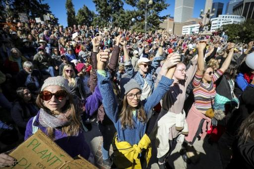 Climate protests hit the global headlines in 2019