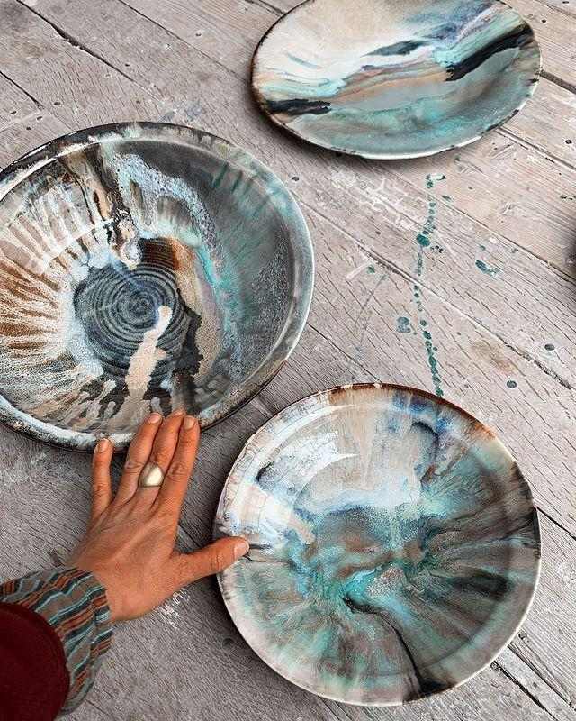 """<p>If you're after unique crockery or serving bowls, look no further than Freya Bramble Carter's designs. Inspired by nature, her handmade ceramics range from fine homewares including plates and bowls to sculptural pieces for the home and garden.</p><p><a class=""""link rapid-noclick-resp"""" href=""""https://freyabramblecarter.com/"""" rel=""""nofollow noopener"""" target=""""_blank"""" data-ylk=""""slk:SHOP NOW"""">SHOP NOW </a></p><p><a href=""""https://www.instagram.com/p/CC6u5suDSmx/?utm_source=ig_embed&utm_campaign=loading"""" rel=""""nofollow noopener"""" target=""""_blank"""" data-ylk=""""slk:See the original post on Instagram"""" class=""""link rapid-noclick-resp"""">See the original post on Instagram</a></p>"""