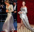 <p>There's no doubt about it, silver lamé is a show-stopping fabric. From the texture to the eye-catching colour, Princess Diana and Lili Reinhart prove that it's chic no matter what decade you're in. </p>