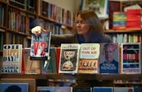 'People are reading more,' bookshop owner Jessica Graham told AFP