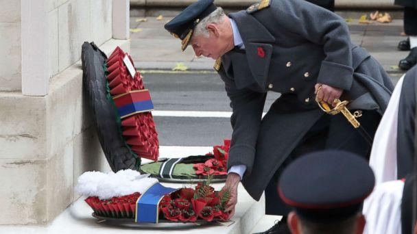 Queen watches as Charles lead commemorations — Remembrance Sunday