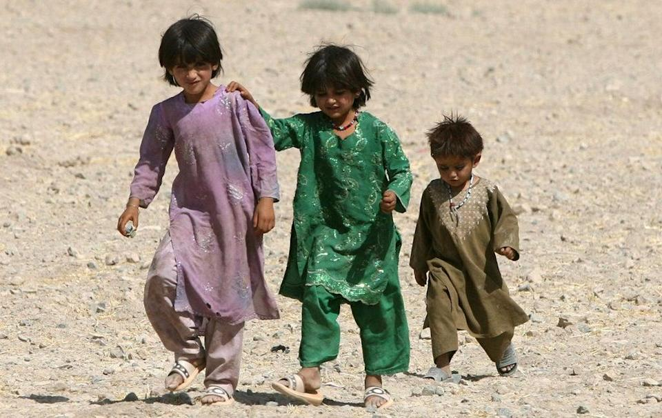 Children in Afghanistan are at increasing risk of malnutrition (Lewis Whyld/PA) (PA Archive)