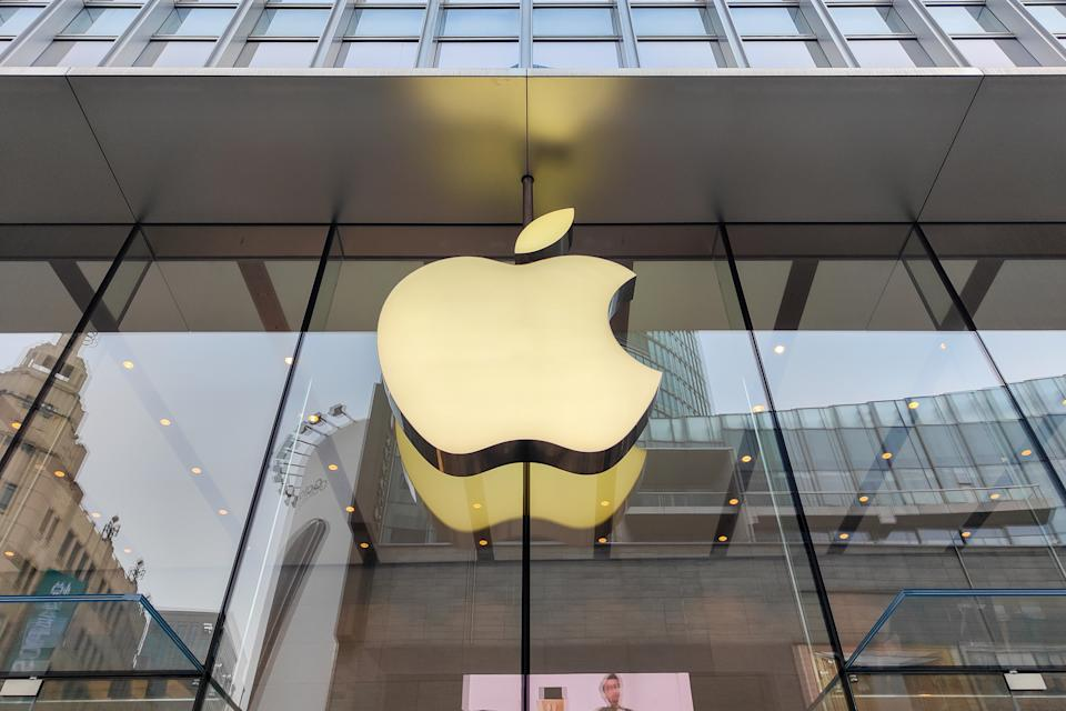 An Apple Store on Nanjing Road Pedestrian Street in Shanghai, China. Source: AAP