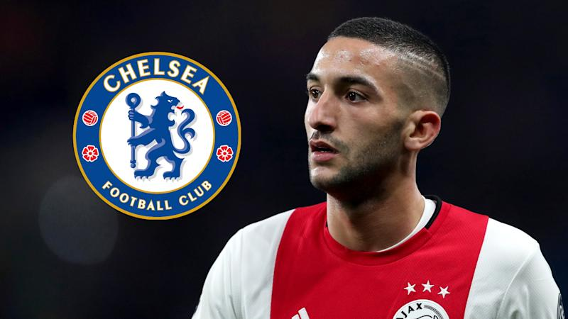 Lampard: Ziyech arrival doesn't mean Pedro and Willian are leaving Chelsea