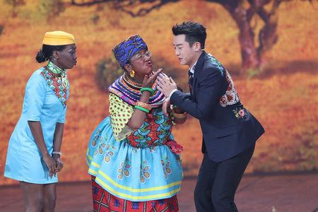 China's largest Lunar New Year TV show marred by 'racist blackface'