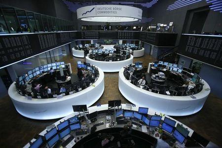 A general view of the German stock exchange in Frankfurt May 7, 2013. REUTERS/Lisi Niesner