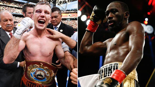 Can Horn take down Crawford? Image: Getty