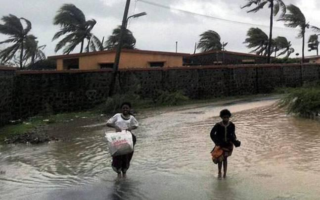 The flooding has inundated several villages and has damaged crops in the  districts while train services between Andhra Pradesh and Odisha are  also hit.