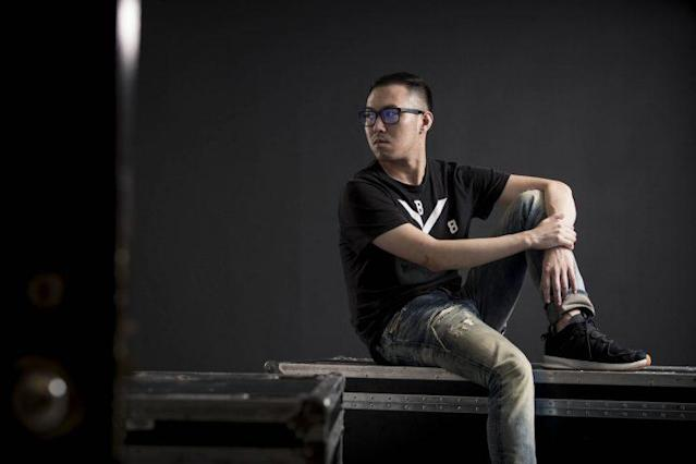 """Red Bull Battle Grounds last chance qualifier Arubi """"RB"""" Kao (Red Bull)"""