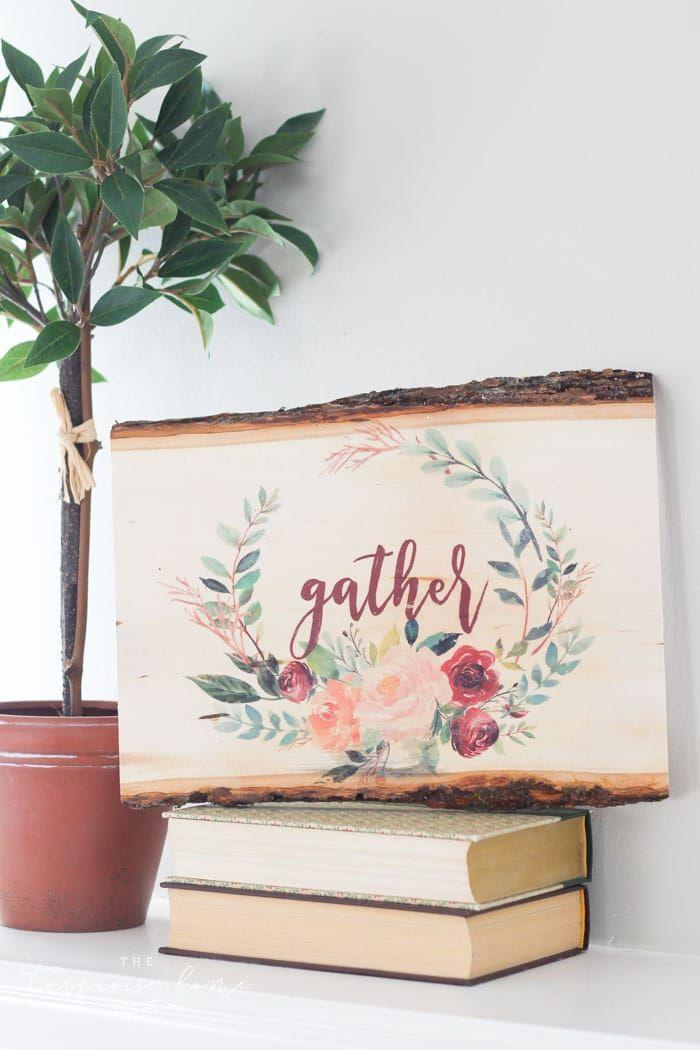 """<p>Add some art to her home with this blogger's simple photo transfer tutorial. </p><p><strong>Get the tutorial at <a href=""""https://theturquoisehome.com/diy-photo-transfer-to-wood/"""" rel=""""nofollow noopener"""" target=""""_blank"""" data-ylk=""""slk:The Turquoise Home"""" class=""""link rapid-noclick-resp"""">The Turquoise Home</a>. </strong></p><p><strong><a class=""""link rapid-noclick-resp"""" href=""""https://www.amazon.com/slp/wood-slab/ojczqg8yyfna5k4?tag=syn-yahoo-20&ascsubtag=%5Bartid%7C10050.g.645%5Bsrc%7Cyahoo-us"""" rel=""""nofollow noopener"""" target=""""_blank"""" data-ylk=""""slk:SHOP WOOD SLABS"""">SHOP WOOD SLABS</a><br></strong></p>"""