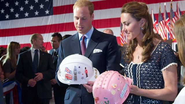 Prince William and Kate Middleton's Royal Travel Gifts Revealed