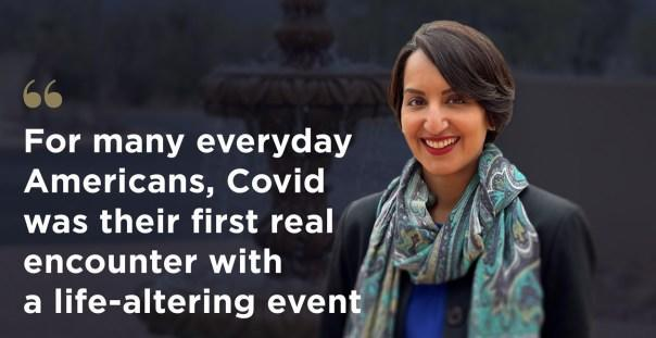 Dr. Jasleen Chhatwal, one of the nation's leading psychiatrists, believes that the U.S. will be disproportionately affected by mental health issues stemming from COVID-19. Photo courtesy of Sierra Tucson