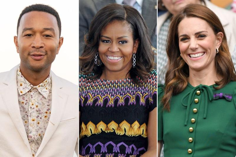 Famous Capricorns John Legend, Michelle Obama and Kate Middleton | Mark Sagliocco/Getty; Marco Tacca/Getty; Karwai Tang/Getty