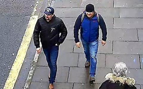 Sergei Skripal suspects - Credit: Getty Images
