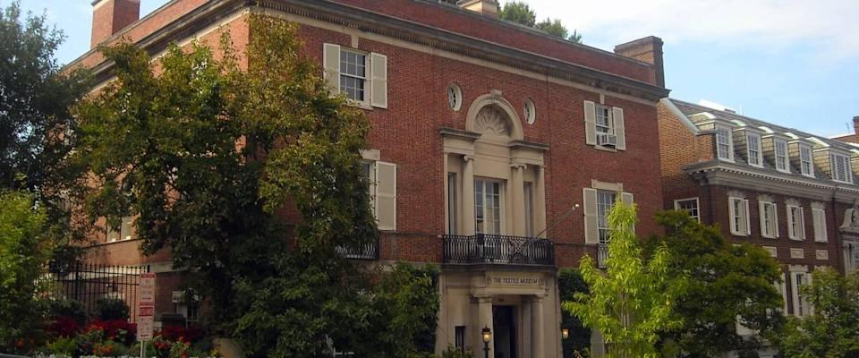 The Textile Museum, also known as the Tucker House and Myers House in the Kalorama neighborhood of Washington, D.C.