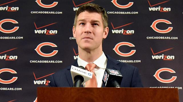 Mike Glennon's reaction to the Bears' draft reach for Mitchell Trubisky is a reminder of how Chicago GM Ryan Pace has given us must-see TV.