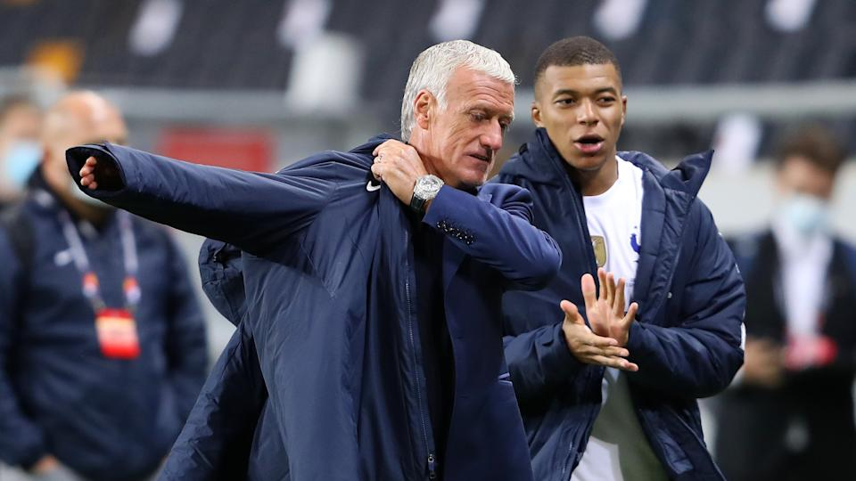 Deschamps/Mbappe France 2020