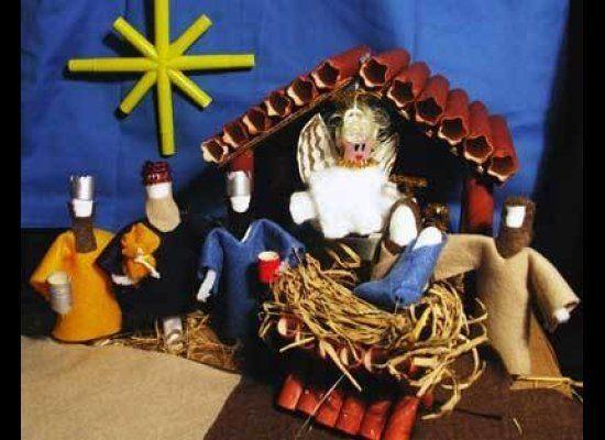 Oestreicher initially worried about including this nativity scene that uses tampons, but decided to go ahead since it comes from a legitimate craft website that just happens to be dedicated to using tampons.
