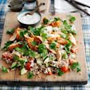 """<p>Vary this salad seasonally by adding your favourite raw vegetables or seeds.</p><p><strong>Recipe: <a href=""""https://www.goodhousekeeping.com/uk/food/recipes/a536782/harissa-chicken-couscous-salad/"""" rel=""""nofollow noopener"""" target=""""_blank"""" data-ylk=""""slk:Harissa Chicken and Couscous Salad"""" class=""""link rapid-noclick-resp"""">Harissa Chicken and Couscous Salad</a></strong></p>"""
