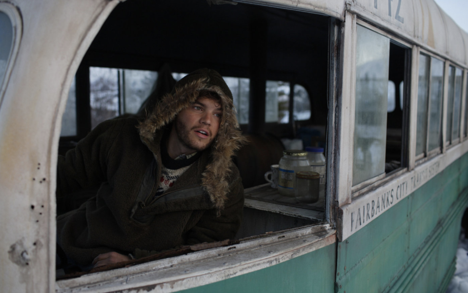 Emile Hirsch as Christopher McCandless in <i>Into The Wild</i>. (Paramount Vantage)