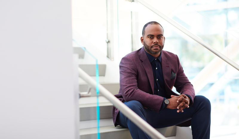 </a> eBay's first Chief Diversity Officer, Damien Hooper-Campbell.Courtesy of eBay