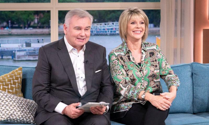 Ruth usually hosts This Morning with Eamonn on Fridays (Photo: Rex/Shutterstock/ITV/Ken McKay)