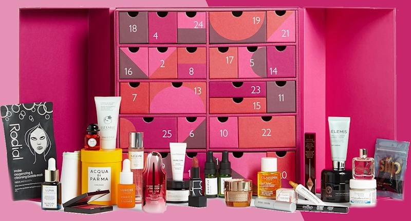 John Lewis & Partners reveals its Beauty Advent Calendar 2020, which contains £375-worth of beauty products. (John Lewis & Partners)