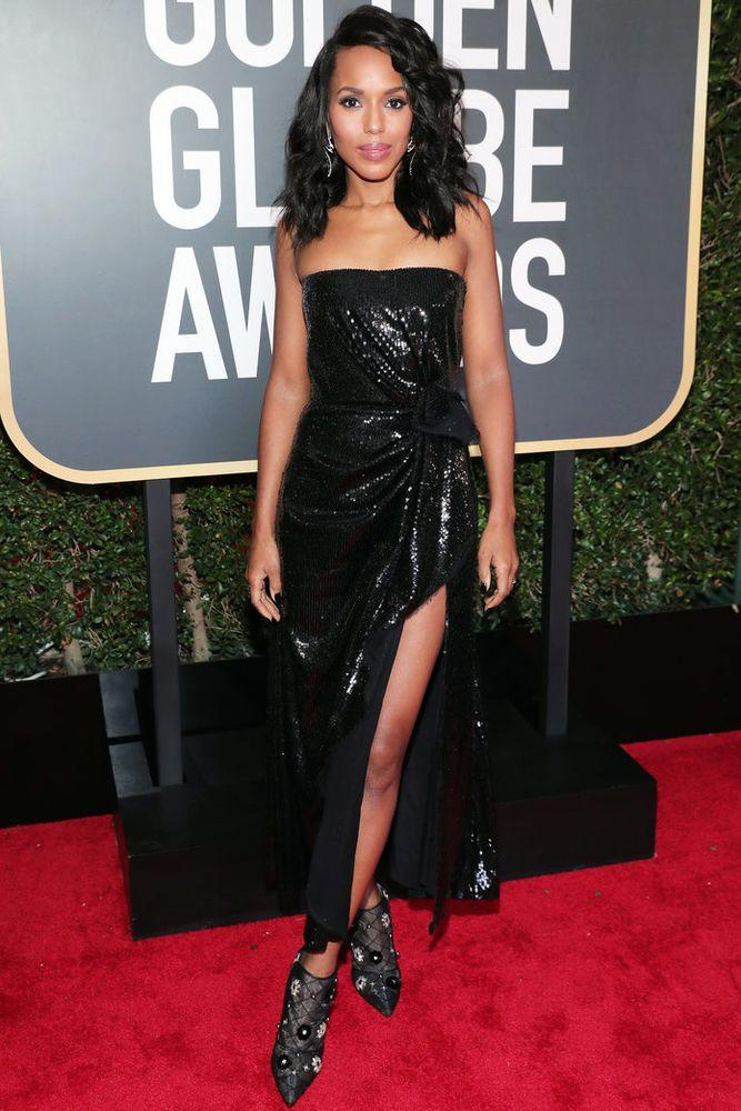 "<p>in <a data-ecommerce=""true"" href=""https://www.shopbop.com/prabal-gurung/br/v=1/9090.htm?all"" target=""_blank"">Prabal Gurung</a>&nbsp;at the Golden Globes.</p> 