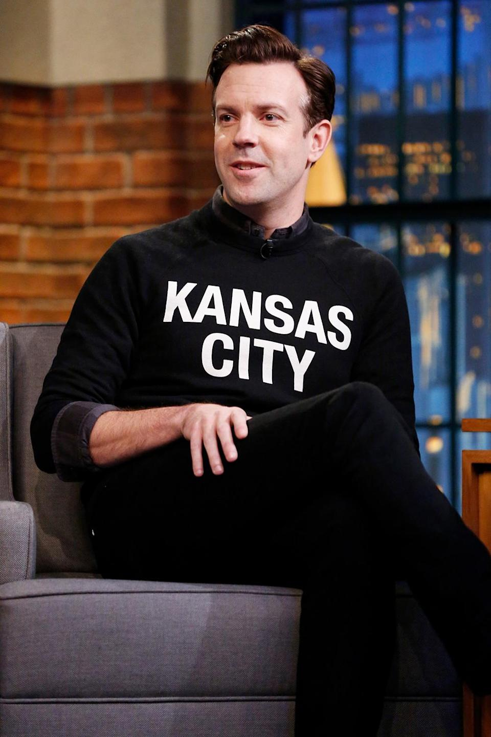 <p>Another Kansas native, Jason Suedikis has been a longtime fan of nearby Missouri's pro sports team.</p>
