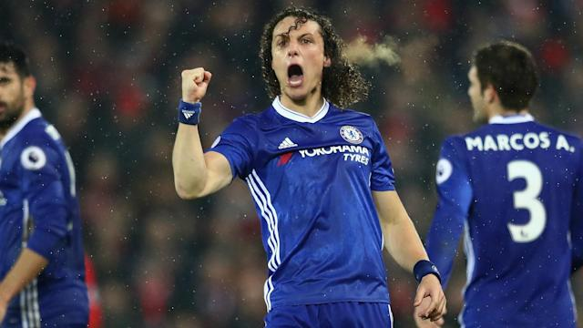 Arsenal host Chelsea on Wednesday and Arsene Wenger insists he has no intention of signing David Luiz from the Premier League champions.