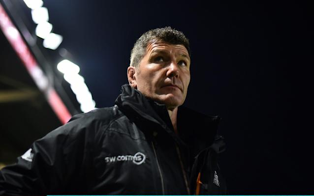 <span>Exeter head coach Rob Baxter</span> <span>Credit: Getty Images </span>
