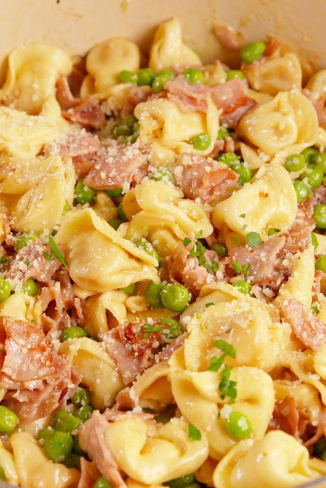 """<p>Your favorite lunchbox sandwich is even more delish in pasta form.</p><p>Get the recipe from <a href=""""https://www.delish.com/cooking/recipe-ideas/recipes/a51708/ham-cheese-tortellini-recipe/"""" rel=""""nofollow noopener"""" target=""""_blank"""" data-ylk=""""slk:Delish"""" class=""""link rapid-noclick-resp"""">Delish</a>.</p>"""