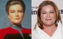 <p>Mulgrew made her final Trek cameo as Vice Admiral Janeway in 'Star Trek: Nemesis' in 2002. She's proved adept at playing serious roles in confined spaces: Mulgrew plays Russian prison chef Red in the phenomenally successful Netflix series 'Orange Is The New Black', for which she won an Emmy nomination (fun fact: she was also nominated for a Golden Globe for playing TV detective Columbo's wife in spin-off, 'Mrs Columbo'). Mulgrew recently used her platform to speak out for prison reform. Janeway would approve.</p>