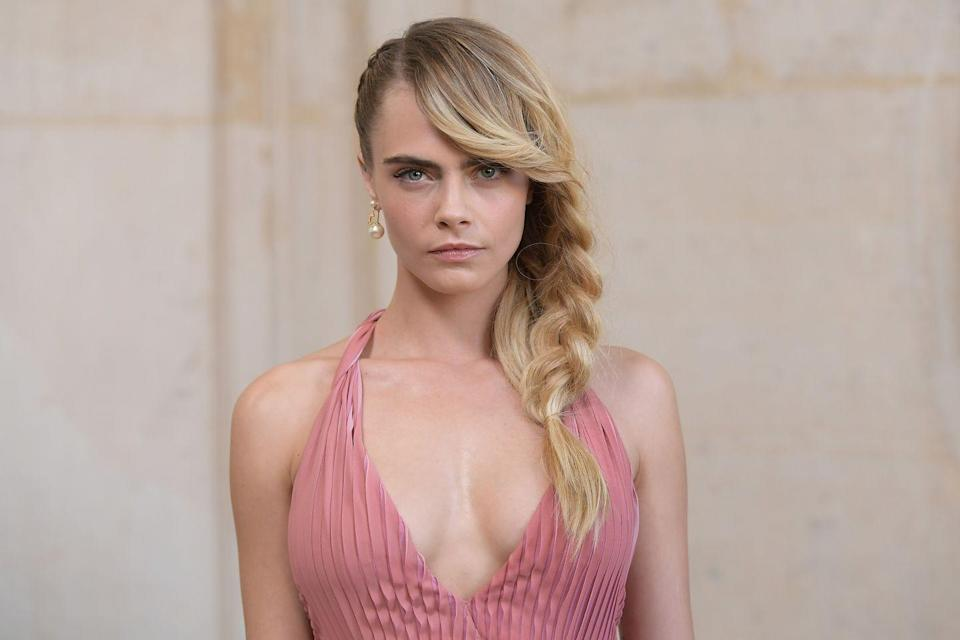 "<p>In June 2020, Cara <a href=""https://variety.com/2020/film/features/cara-delevingne-pansexual-fiona-apple-pride-lgbtq-1234623248/"" rel=""nofollow noopener"" target=""_blank"" data-ylk=""slk:told Variety"" class=""link rapid-noclick-resp"">told <em>Variety</em></a>, ""I always will remain, I think, pansexual ... However one defines themselves, whether it's 'they' or 'he' or 'she,' I fall in love with the person — and that's that. I'm attracted to the person.""</p>"