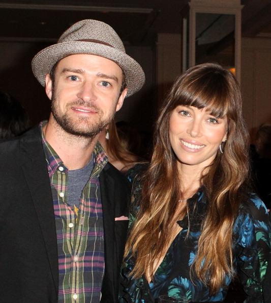 Actors Justin Timberlake and Jessica Biel attend the Variety's 4th Annual Power Of Women Event Presented By Lifetime at the Beverly Wilshire Four Seasons Hotel on October 5, 2012 in Beverly Hills, California.