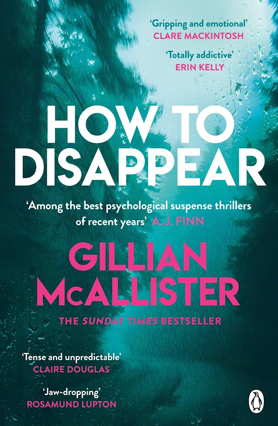 """<strong>Jessica Morgan, Staff Writer</strong><br><br><strong>Book:</strong> <em>How To Disappear</em> by Gillian McAllister<br><br><strong>Why is it your August read?</strong> I've been wanting to dive into a book that hasn't been forcing me to read it for the last six years (see <a href=""""https://www.refinery29.com/en-gb/book-recommendations-july-2020#slide-6"""" rel=""""nofollow noopener"""" target=""""_blank"""" data-ylk=""""slk:July's read"""" class=""""link rapid-noclick-resp"""">July's read</a> to feel my pain) and what better choice is there than a good old crime thriller? Gillian McAllister, who is best known for her unpredictable twists and turns, gives us a dark and tense human experience of the witness protection programme and its emotionally devastating impact on a blended family living in London. It's a rollercoaster that will leave you gasping and turning the pages for more. <br><br><strong>Gillian McAllister</strong> How To Disappear, $, available at <a href=""""https://amzn.to/318ka0r"""" rel=""""nofollow noopener"""" target=""""_blank"""" data-ylk=""""slk:Amazon"""" class=""""link rapid-noclick-resp"""">Amazon</a>"""