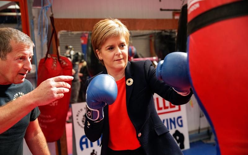 Ms Sturgeon - Credit: Bloomberg