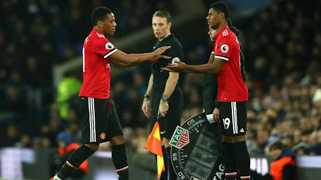 "Ryan Giggs wants Anthony Martial and Marcus Rashford to be part of an ""exciting"" Manchester United team next season."