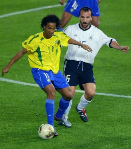Ronaldinho was a star of Brazil's 2002 World Cup win and played for European giants Barcelona, Paris Saint-Germain and AC Milan